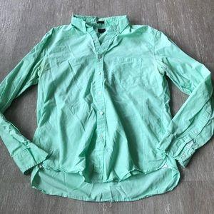 J. Crew Slim American Pima Cotton Oxford Shirt